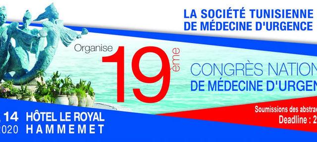19 ieme Congrès National de médecine d'urgence